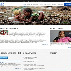 NGO Demo Website