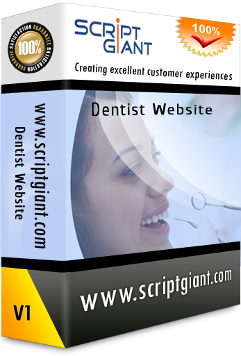 Dentist Website Script