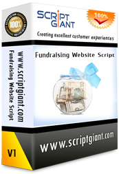 Fundraising Website Script