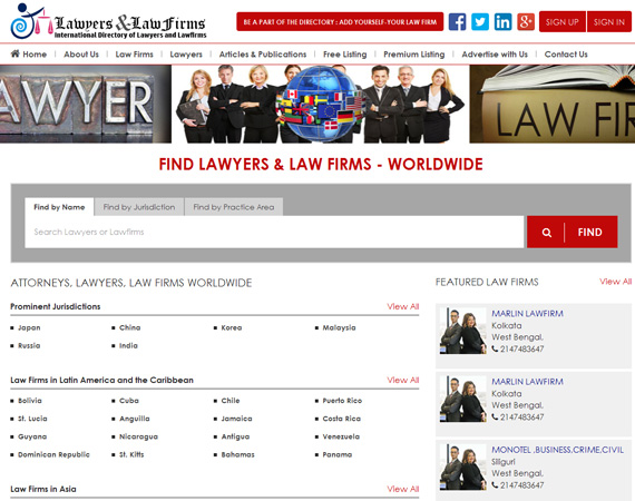 Law Website
